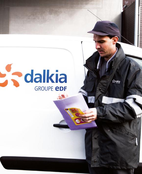 Dalkia a équipé 5 000 de ses 8 500 véhicules particuliers et utilitaires en télématique embarquée. Avec à la clé une baisse de 5 % du nombre des kilomètres parcourus et un recul de 15 à 20 % du nombre d'accidents