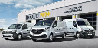 Renault, la marque des professionnels