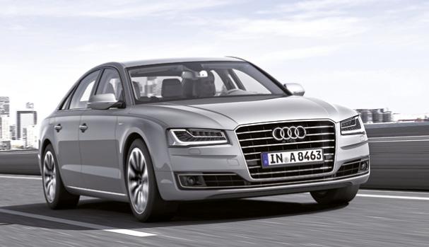 La version Hybrid de l'Audi A8 aligne 245 ch et 144 g (à partir de 91 860 euros), et combine un 2.0 TFSI à un moteur électrique. À n'en pas douter, l'hybride rechargeable fera son apparition avec le renouvellement du modèle.