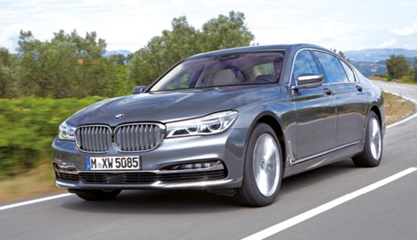 Avec ses 265 ch et seulement 119 g, la BMW Série 7 en version 730d assure, en berline (5,10 m) et en diesel, le minimum syndical à partir de 86 500 euros. En attendant courant 2016 une 740e hybride rechargeable annoncée à 49 g.