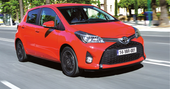 Toyota Yaris Affaires