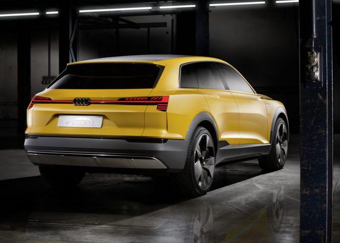 Audi h-tron quattro concept : une hybride avec pile à combustible