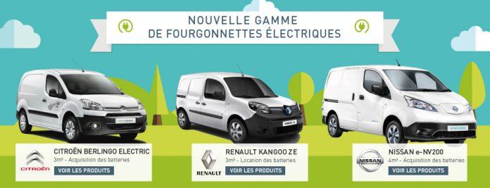 L'UGAP intègre trois VUL électriques à son catalogue