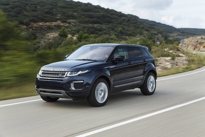 range rover evoque volution d un best seller. Black Bedroom Furniture Sets. Home Design Ideas
