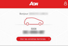 Aon Auto : l'application connectée pour conducteur