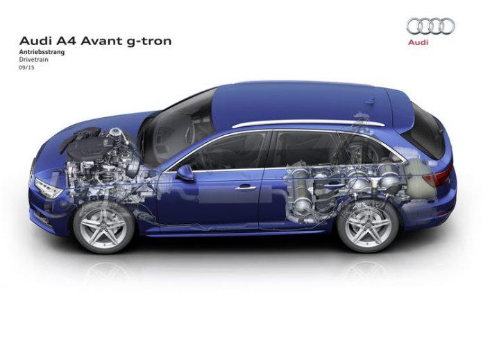 Audi se met au gaz durable