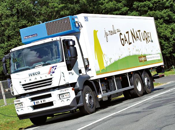 Entreprise spécialiste de la location de véhicules industriels, GT Location a mis en place diverses initiatives afin de réduire l'impact environnemental de son activité dont le recours à des véhicules GNV.