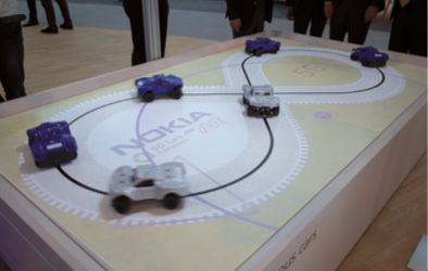 Nokia : véhicules autonomes et 5G