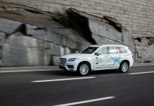 Volvo lancera Drive Me London en 2017