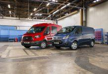 Ford Transit : le diesel EcoBlue débarque