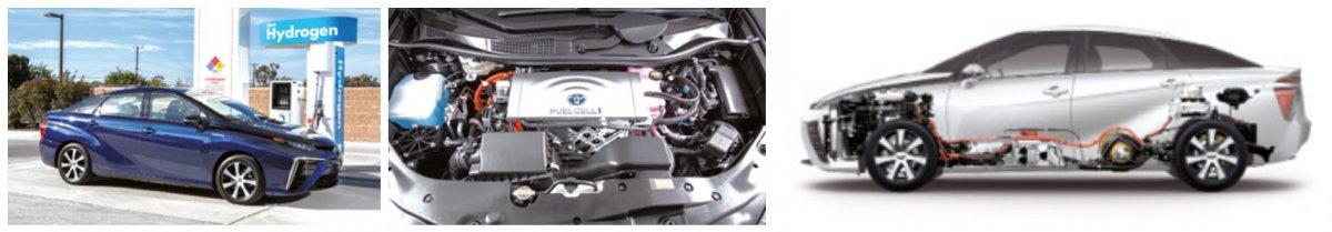 Le marché du véhicule à hydrogène demeure encore extrêmement confidentiel : pour sa berline à pile de combustible Mirai, le constructeur vise une production de 2 000 unités en 2016, puis de 3 000 en 2017.