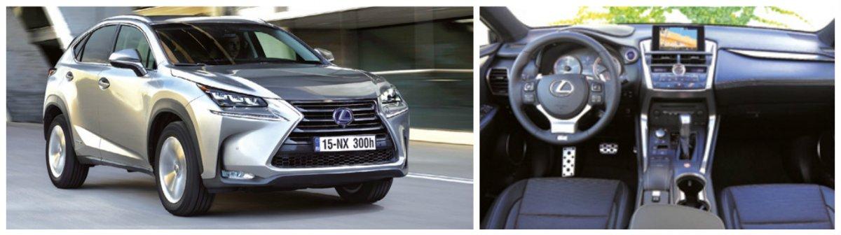 Décliné en versions Business et Pack Business, le NX permet de considérer le monde des crossovers sous un autre angle, en 300h et 2WD, à partir de 116 g. Prix de départ : 41 090 euros pour le 300h 2WD.
