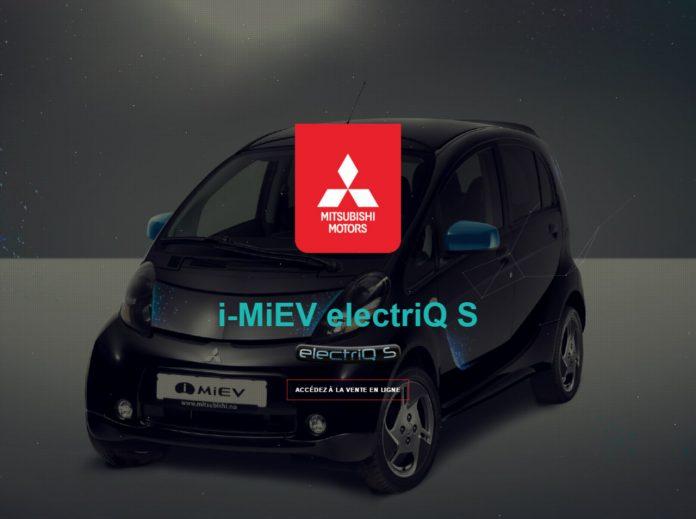 Mitsubishi s'essaie à la vente de l'i-MiEV en ligne