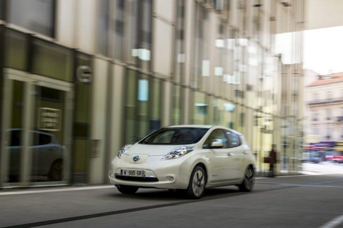 Nissan Leaf : un peu plus loin