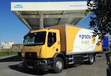 La Poste reçoit son premier véhicule GNV