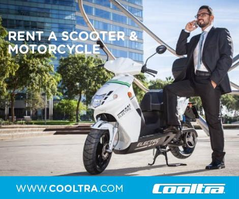 Cooltra loue ses deux-roues à Paris