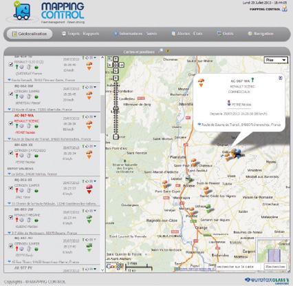 Le lancement d'Optimum Automotive est basé sur la télématique embarquée et couvre l'ensemble de la gestion de flotte.