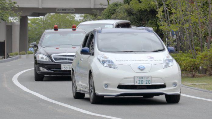 Des Nissan autonomes en test au G7