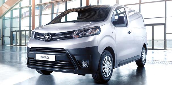Nouveau Toyota ProAce