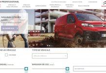 Citroën lance un site internet pour les professionnels