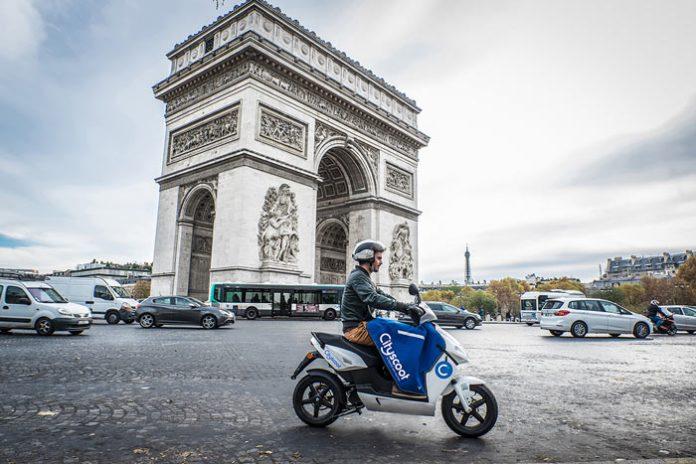 CityScoot : le scooter électrique en libre-service débarque à Paris