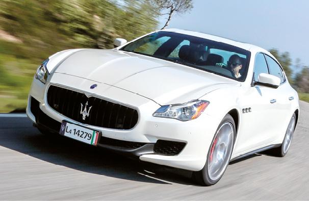 La Maserati Quattroporte aligne 275 ch sous son capot. L'efficience n'est pas sa préoccupation majeure, comme en témoigne son homologation à 163 g, mais son style et sa prestance restent incomparables (à partir de 97 400 euros).