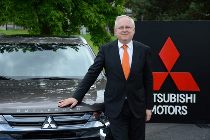 Patrick Gourvennec chez Mitsubishi France