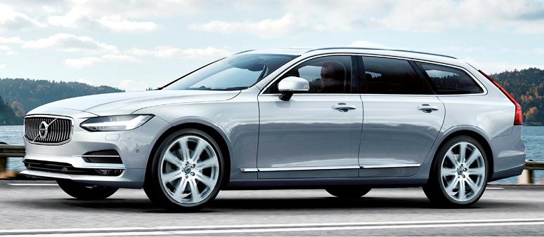Chez Volvo, la S90 et le break V90 s'offrent trois configurations : D3 de 150 ch (à partir de 41 700 et 44 350 euros), D4 de 190 ch (à partir de 44 100 et 46 750 euros) et D5 de 235 ch (à partir de 53 800 et 56 450 euros).