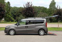Fiat Doblo : une version TPMR avec Durisotti