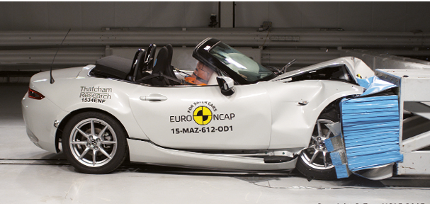Mazda MX-5 2015, choc frontal