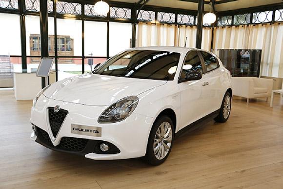 Alfa Romeo Giulietta finition business