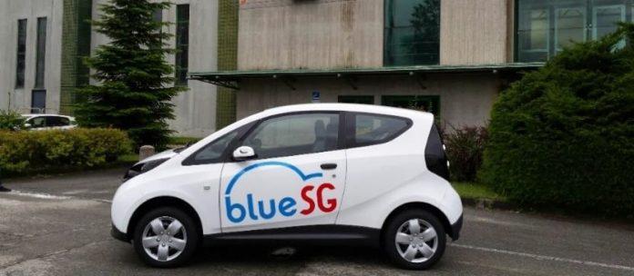 Un service Autolib' à Singapour