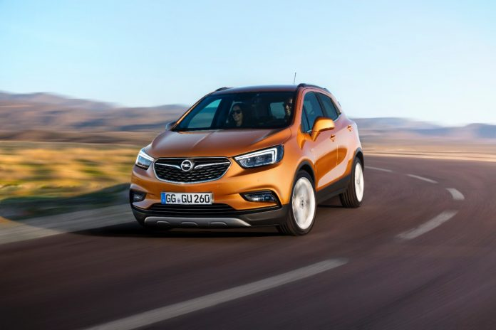 Opel dévoile le Mokka X