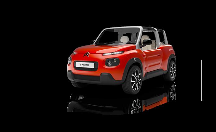 Citroën e-Méhari : des électrons à l'air libre