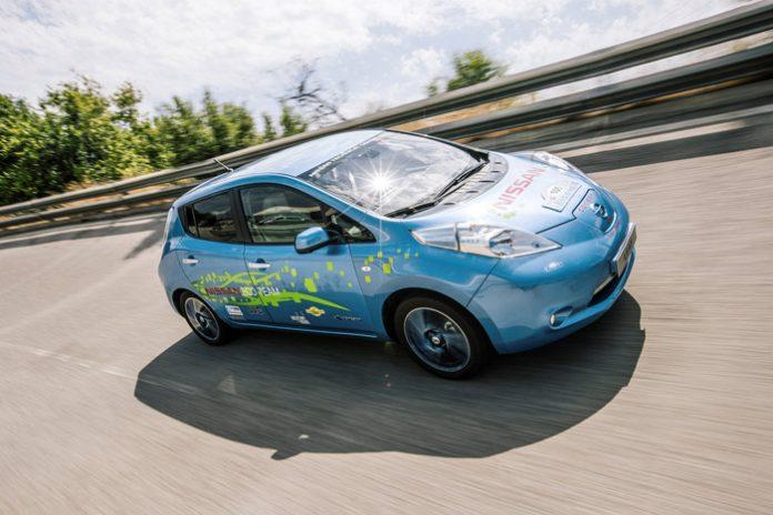 Nissan teste une Leaf 48kWh
