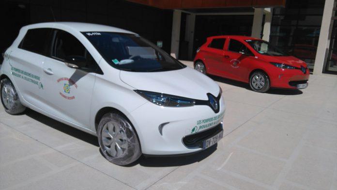 De l'électrique pour le SDIS des Bouches-du-Rhône