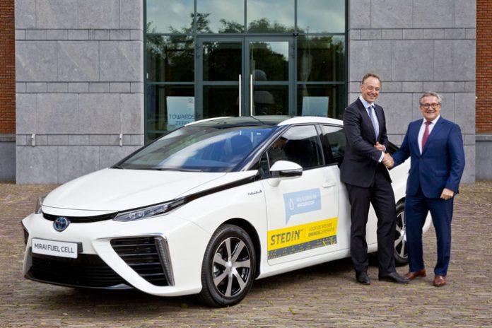 Deux Toyota Mirai rejoignent la flotte du danois Stedin