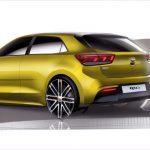 Mondial de l'automobile : la Kia Rio restylée se montre