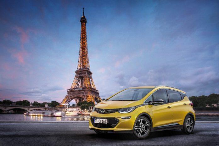 Mondial de l'automobile : Opel lancera l'Ampera-e