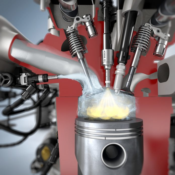 Bosch imagine l'injection d'eau dans un moteur