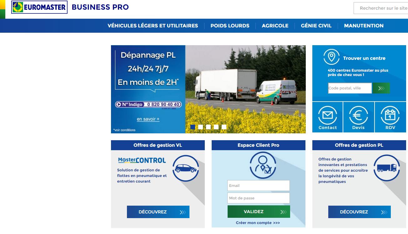 Euromaster Digitalise Ses Offres Dentretien