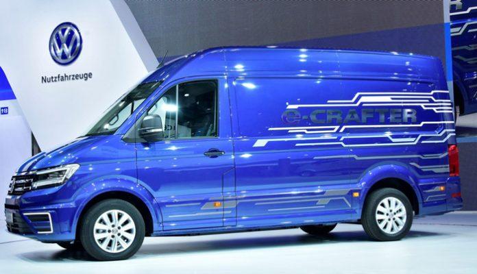 IAA Hanovre : le Volkswagen e-Crafter dévoilé