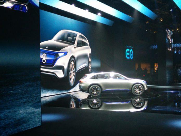 Mondial de Paris 2016 : Mercedes à la (re-)charge électrique