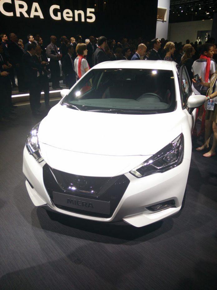 Mondial de Paris 2016 : la Micra de Nissan se met à la techno