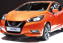 Une Nissan Micra « made  in France », première mondiale