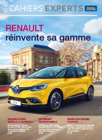Cahiers Experts Renault réinvente sa gamme
