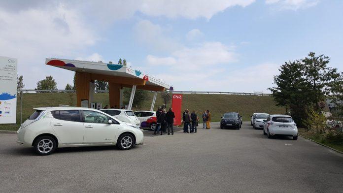 Nouvelle station pour le corridor électrique de la CNR