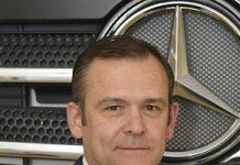 Hubert Cresson chez Mercedes-Benz Trucks France
