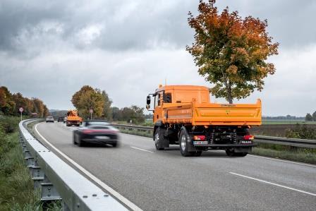 Un véhicule autonome pour les chantiers routiers