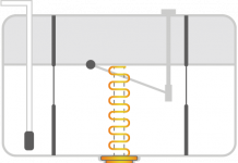 Une jauge d'essence à ultrasons par Mapping Control